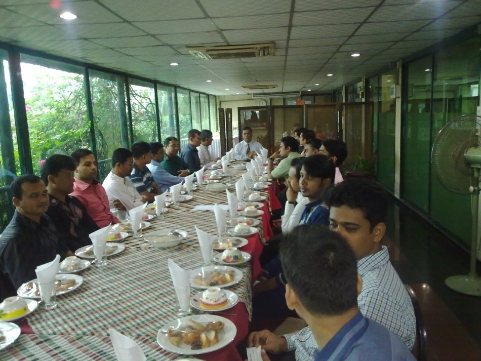 Iftar Party at RAOWA club shared by CodeSierra